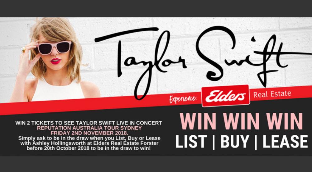 Taylor Swift Tix Giveaway