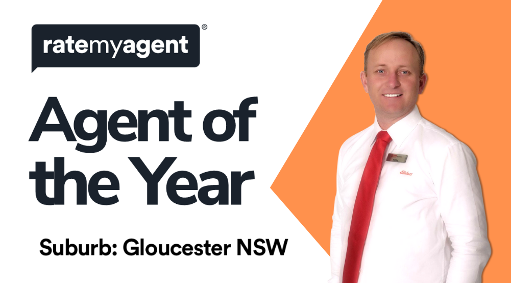 Ashley Hollingsworth wins Agent of the Year for Gloucester in the RateMyAgent 2019 Agent of the Year Awards