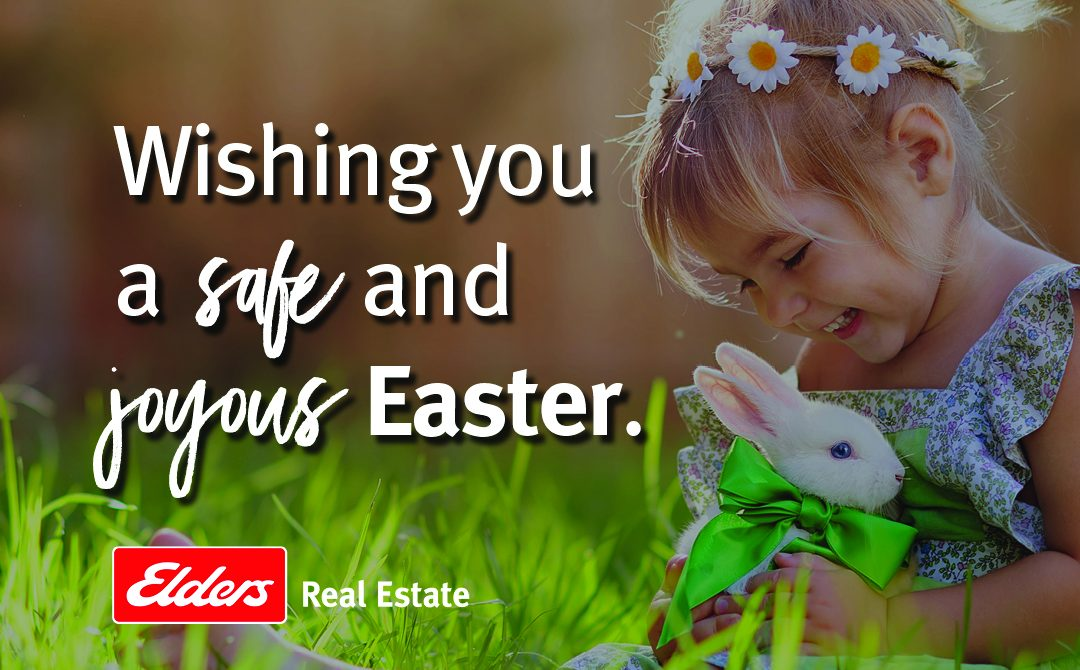 Wishing you a safe and joyous Easter.
