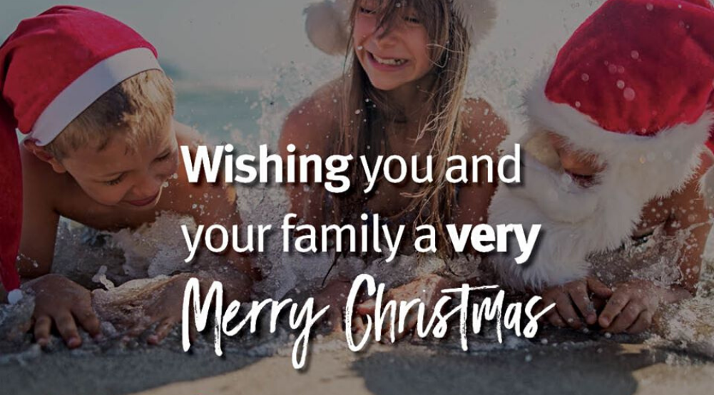 Merry Christmas from Robert, Tracey, Ashley, Susan & Kelly!