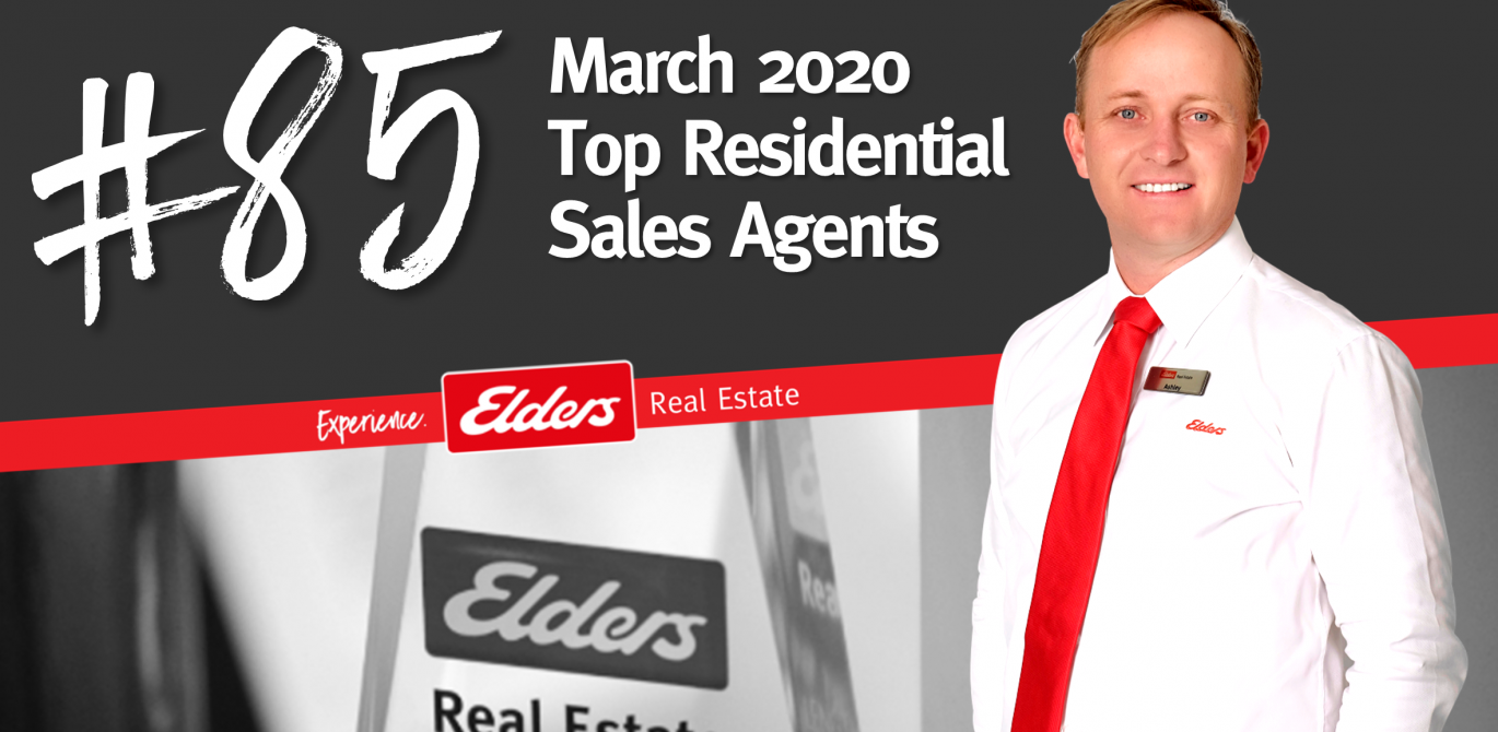 Ashley Hollingsworth ranked #85 in Australia for Residential Sales – March 2020