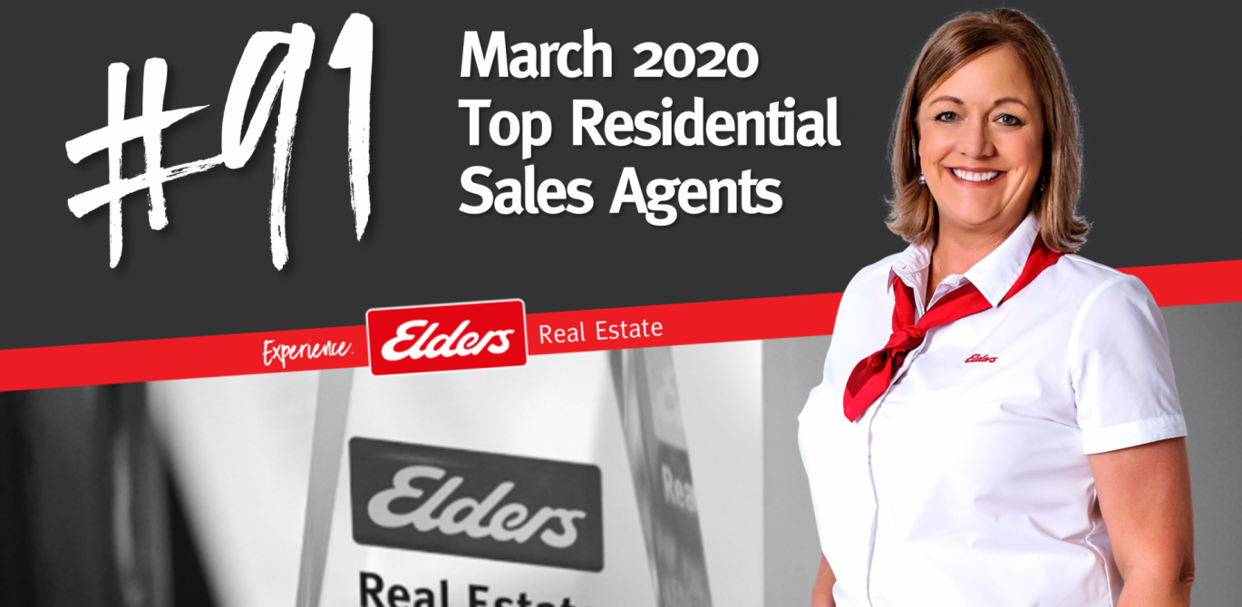 Susan O'Brien ranked #91 in Australia for Residential Sales – March 2020