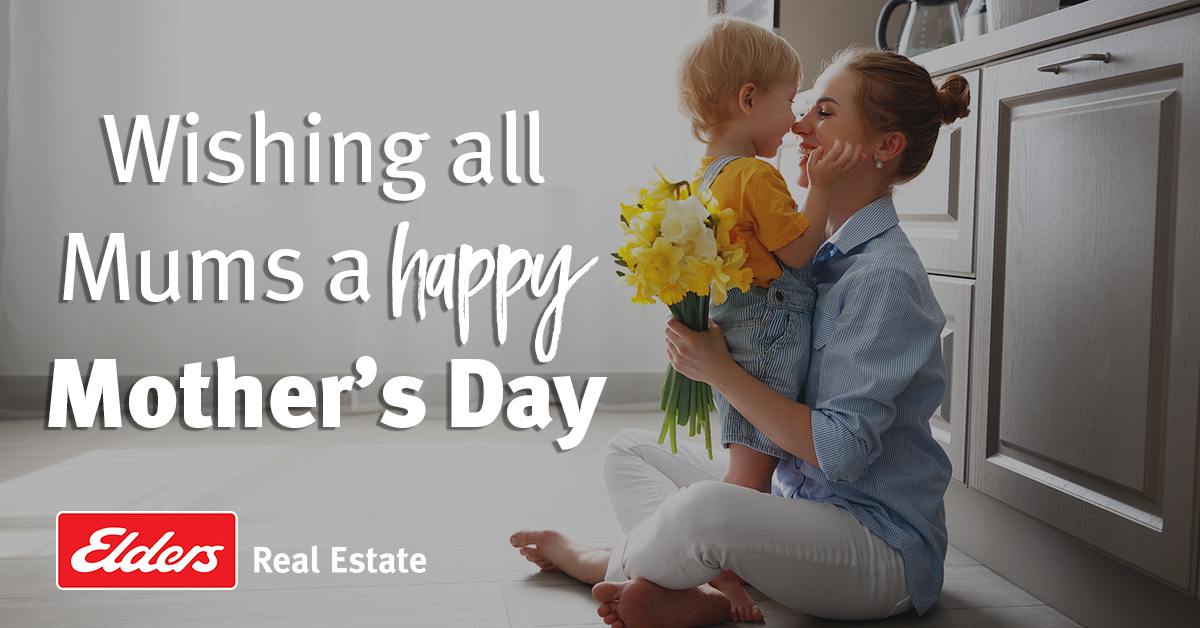 Wishing all mums a very special Mother's Day