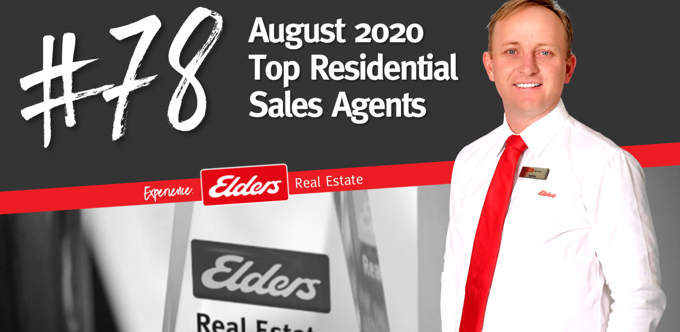 Ashley Hollingsworth ranked #78 in Australia for Residential Sales – August 2020
